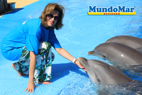 Princess Esmeralda of Belgium visits Mundomar