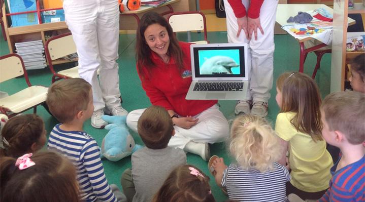Mundomar inicia su campaña escolar didáctica y divertida