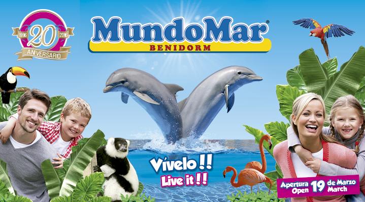 Mundomar abre sus puertas el próximo 19 de marzo