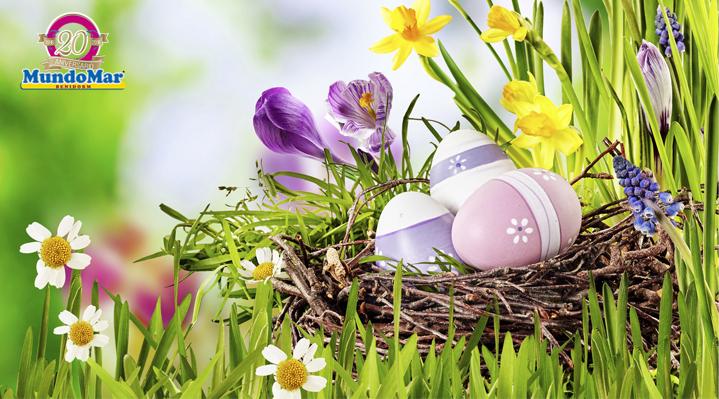 El origen de los huevos de Pascua