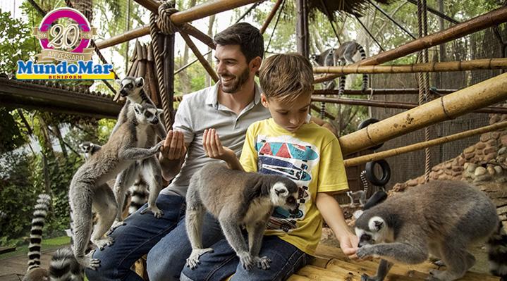 Mundomar, único parque donde interactuar con las diferentes especies