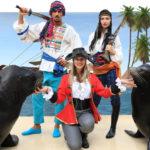 En busca<br /> del tesoro, show de leones marinos
