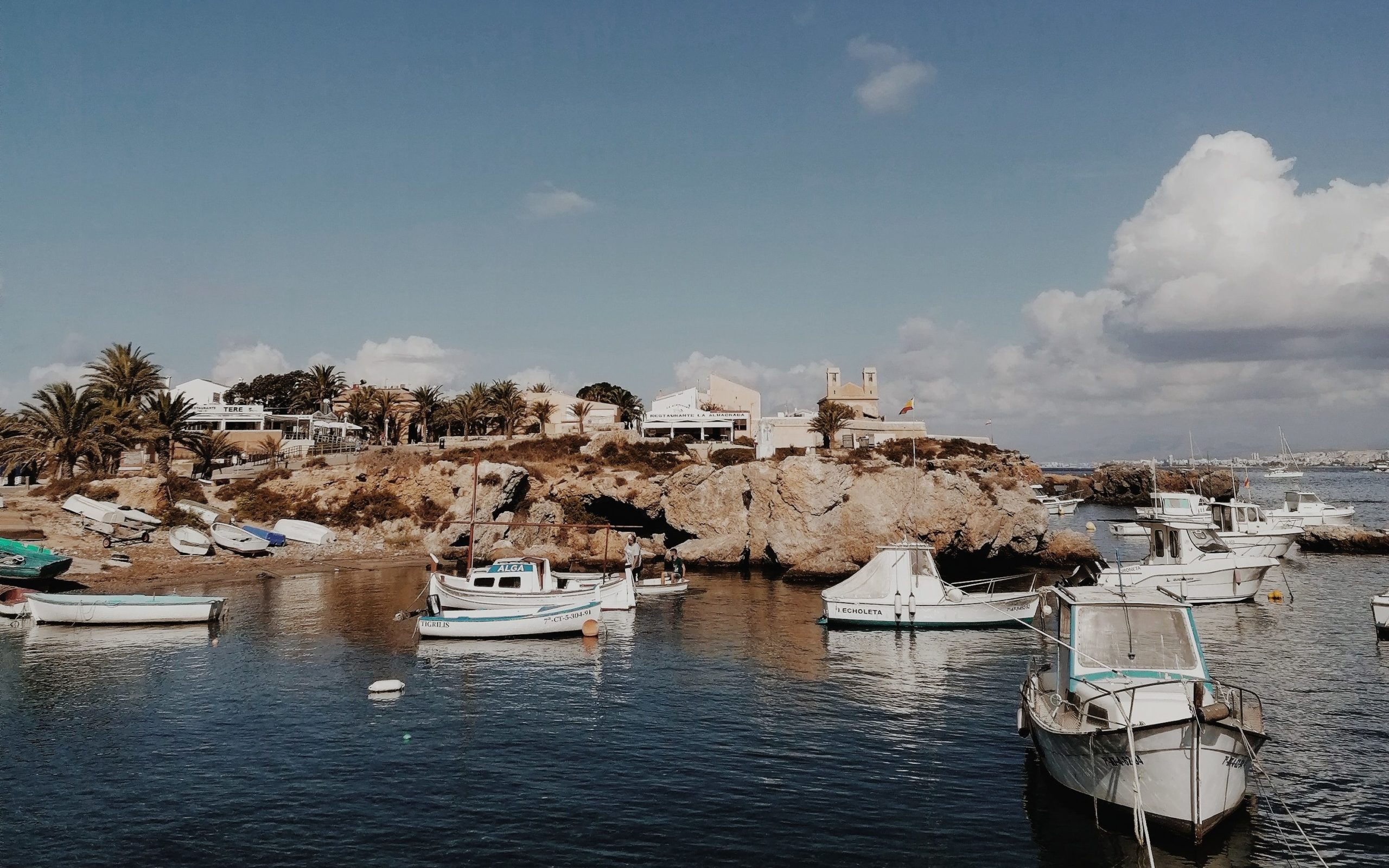 Puerto de Tabarca.